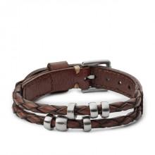 Fossil JF02345040 Herren Armband Retro Pilot Bracelet 26 cm