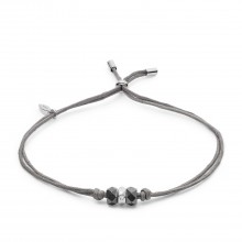 Fossil JFS00470040 Armband Damen Rondelle Sterling-Silver