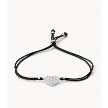 Fossil JFS00491040 Armband Damen Cutout Heart Sterling-Silber