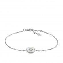 Fossil JFS00501040 Armaband Damen Vintage Star Sterling-Silber