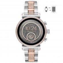 Michael Kors MKT5064 Smartwatch Damen Sofie Heart Rate mit Edelstahl-Band Ø 41 mm