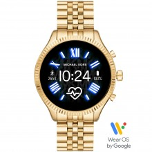 Michael Kors MKT5078 Smartwatch Lexington 2 mit Edelstahl-Band Ø 44 mm