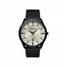 Police PL15305JSB.79MM Herren-Uhr Patriot Analog Quarz mit Edelstahl-Armband