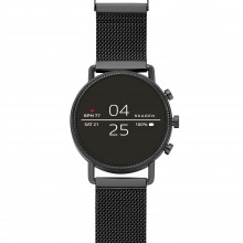 Skagen SKT5109 Smartwatch Falster 2 Schwarz mit Milanaise-Band Ø 40 mm