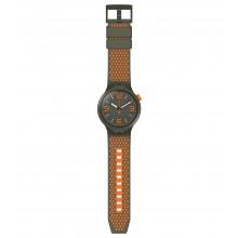 Swatch SO27M101 Armbanduhr BBBeauty Quarz Silikon Armband Ø 47,00 mm