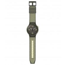 Swatch SO27M102 Armband-Uhr BBBlanco Analog Quarz mit Silikon-Band
