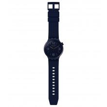 Swatch SO27N100 Armband-Uhr BBNavy Analog Quarz mit Silikon-Band Ø 47,00 mm