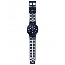 Swatch SO27N101 Armband-Uhr BBCream Analog Quarz mit Silikon-Band Ø 47,00 mm