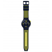 Swatch SO27N102 Armband-Uhr BBNeon Analog Quarz mit Silikon-Band Ø 47,00 mm