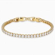 Swarovski 5511544 Armband Damen Tennis Deluxe Weiss Vergoldet