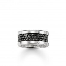Thomas Sabo TR1710-051-11 Eternity-Ring Classic Schwarz Sterling-Silber