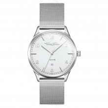 Thomas Sabo WA0338-201-202 Armbanduhr Code TS Silber Weiß Edelstahl