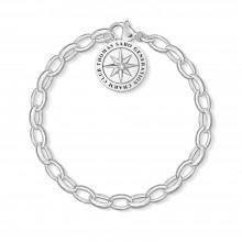 Thomas Sabo X0269-643-14 Charm-Armband Sterling-Silber 17 cm