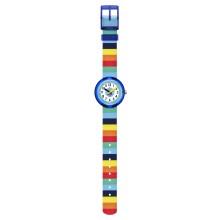 FlikFlak FPNP056 Jungen-Uhr Stripybow Analog Quarz Textil-Armband