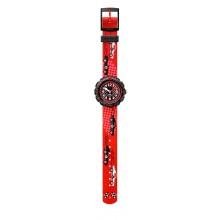 Flik Flak FPSP044 Jungen-Uhr 3 2 1 Go Analog Quarz Textil-Armband