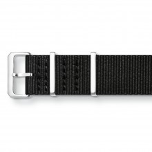 Thomas Sabo ZWA0308-276-11 Ersatzband Uhrenarmband Code TS Nato Schwarz 20 mm