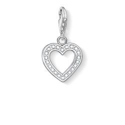 Thomas Sabo 0018-051-14 Charm-Anhänger Herz Sterling-Silber
