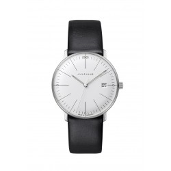 Junghans 047/4251.04 Damen-Uhr Max Bill Analog Quarz mit Leder-Band
