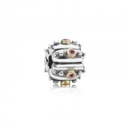 Pandora Clip bicolor, Fusion lachs