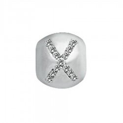 Lovelinks 1182220-X Charm Bead Sterling Silver Buchstabe Letter X