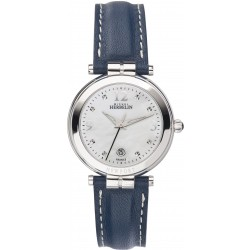 Michel Herbelin 14264/AP59BL Damen-Uhr Newport Analog Quarz mit Leder-Band
