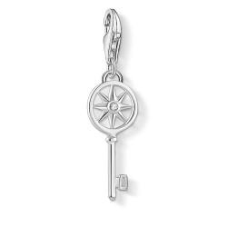Thomas Sabo 1799-051-14 Charm-Anhänger Schlüssel mit Stern Silber