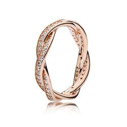 Pandora Rose 180892CZ Ring Verbundene Treue