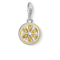 Thomas Sabo 1835-041-4 Charm-Anhänger Zitrone Sterling-Silber