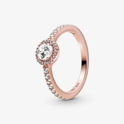 Pandora Rose 188861C01 Ring Damen Klassischer Funkelnder Strahlenkranz