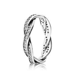 Pandora 190892CZ Ring Verbundene Treue