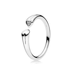 Pandora 196572CZ Ring Zwei Herzen