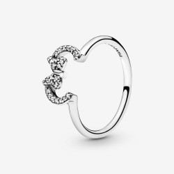Pandora Disney 197509CZ Ring Minnie Silhouette Sterling-Silber