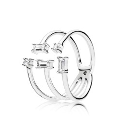 Pandora 197527CZ Ring Shards Of Sparkle Sterling-Silber