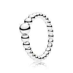 Pandora 197536 Ring Damen String Of Beads Sterling-Silber