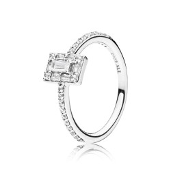 Pandora 197541CZ Ring Damen Luminous Ice Sterling-Silber