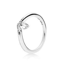 Pandora 197790CZ Ring Damen Classic Wish Sterling-Silber