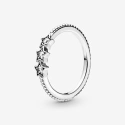 Pandora 198492C01 Ring Damen Himmlische Sterne Silber