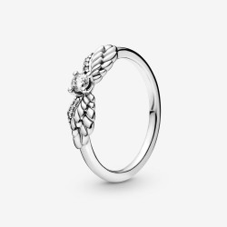 Pandora 198500C01 Ring Damen Funkelnde Engelsflügel Silber