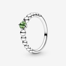 Pandora 198867C10 Ring Damen Frühlingsgrüne Metallperlen Silber