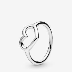 Pandora 198613C00 Ring Damen Veredeltes Herz Silber