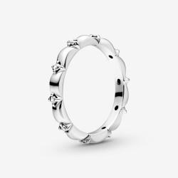 Pandora 198791C01 Ring Damen Blütenblätter Silber