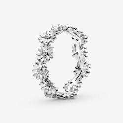 Pandora 198799C01 Ring Damen Funkelnder Gänseblümchen Silber