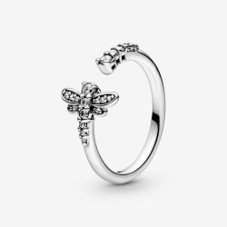 Pandora 198806C01 Ring Damen Funkelnde Libelle Silber
