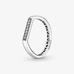 Pandora 199041C01 Ring Damen Funkelnder Stacking Silber