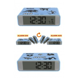 Scout 280001026 Wecker Kinder Blau The Digi Clock
