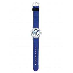 Scout 280310003 Jungen-Armbanduhr Lernuhr Big Orca Blau