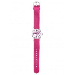 Scout 280310004 Maedchen-Armbanduhr Lernuhr Einhorn Unicorn Star Pink