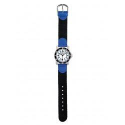 Scout 280377002 Jungen-Uhr Lernuhr Diver Taucheruhr Schwarz Blau
