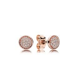 Pandora Rose 280726CZ Ohrringe Glänzende Tröpfchen