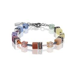 Coeur De Lion 2838/30-1542 Armband GeoCUBE® Swarovski® Multicolor Soft